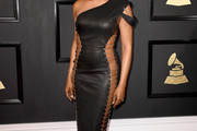 Laverne Cox Leather Dress