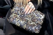Khloe Kardashian Sequined Clutch