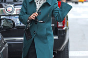 Ann Curry Wool Coat