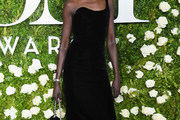 Alek Wek One Shoulder Dress