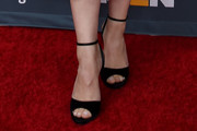 Katherine Langford Peep Toe Pumps