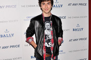 Nat Wolff Leather Jacket
