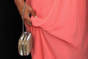 Barbara Gandolfi Metallic Clutch