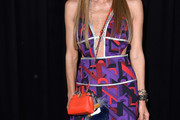 Anna dello Russo Leather Shoulder Bag