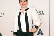 Rose McGowan Ruffle Blouse