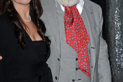 Anthony Hopkins Paisley Tie