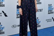 Dakota Johnson Print Pants