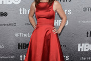 Amy Brenneman Cocktail Dress