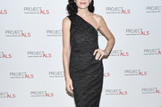 Julianna Margulies One Shoulder Dress