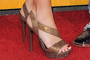 Jessica Aldean Strappy Sandals