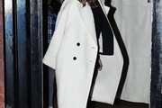 Kate Beckinsale Wool Coat