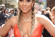 Tamar Braxton French Braid