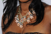 Benita Fitzgerald Mosley Beaded Statement Necklace