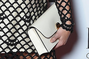Abbey Clancy Leather Clutch