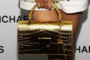 Qin Lan Metallic Purse