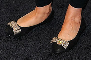 Carrie Fisher Embellished Flats