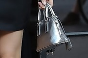 Georgia May Jagger Metallic Purse