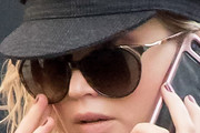 Jennifer Lawrence Oval Sunglasses