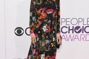 Lori Loughlin Print Dress