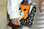 Shailene Woodley Printed Clutch