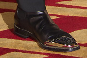Shahrukh Khan Leather Slip On Shoes