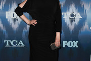 Emily Deschanel Little Black Dress