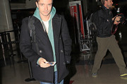 Topher Grace Pea Coat