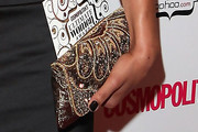 Zawe Ashton Beaded Clutch