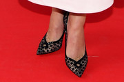 Maika Monroe Evening Pumps