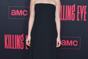 Jodie Comer Strapless Dress