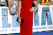 Clara Paget Form-Fitting Dress