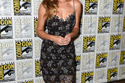 Alyson Michalka Form-Fitting Dress