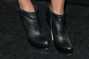 Jessica Lowndes Ankle Boots