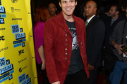 Jim Carrey Suede Jacket