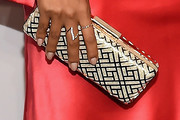 Lais Ribeiro Metallic Clutch