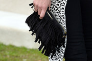 Kate Moss Suede Clutch