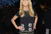 Dina Lohan Embellished Top