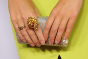 Laura Dundovic Sequined Clutch