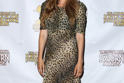 Moon Bloodgood Print Dress