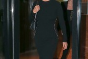 Yolanda Foster Form-Fitting Dress