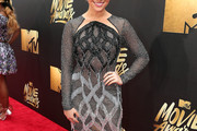 Katie Stevens Beaded Dress