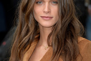 Elisa Sednaoui Long Wavy Cut