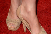 Lara Pulver Peep Toe Pumps