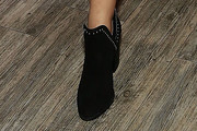 Victoria Justice Studded Boots