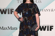 Michelle Trachtenberg Print Dress