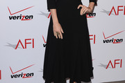 Lizzy Caplan Long Skirt