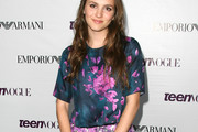Maude Apatow Print Blouse