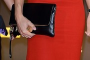 Jessica Ennis Leather Clutch