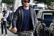 Liam Hemsworth Zip-up Jacket