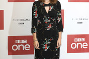 Kelly Macdonald Print Dress